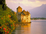 Chateau De Chillon  Lake Generva  Montreux  Switzerland