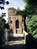 Boneswaldesthornes Tower  Chester City Walls  Chester  Cheshire  England  United Kingdom