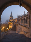Fishermans Bastion  Castle Hill Area  Budapest  Hungary