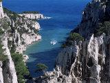 Cassis  Calanque d'En Vau  Bouches-Du-Rhone  Provence  France  Mediterranean