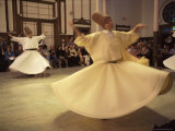 Whirling Dervishes  Istanbul  Marmara Province  Turkey