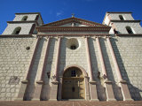 The Old Santa Barbara Mission  Santa Barbara  California  USA