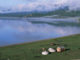 Lake Khovsgol Nuur  Khovsgol  Mongolia  Central Asia