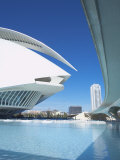Palau De Les Arts  City of Arts and Sciences  Valencia  Spain