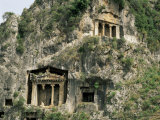 Lycian Tombs  Fethiye  Anatolia  Turkey  Eurasia
