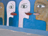 East Side Gallery  Berlin Wall  Berlin  Germany