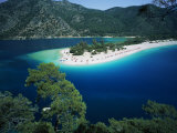 View of the Blue Lagoon  Oludeniz  Anatolia  Turkey  Eurasia
