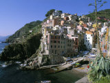 Village of Riomaggiore  Cinque Terre  Unesco World Heritage Site  Liguria  Italy