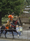 Traditional Costume and Horse  Ceremony for Archery Festival  Tokyo  Japan
