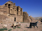 El Deir (Ed-Deir) (The Monastery)  Petra  Unesco World Heritage Site  Jordan  Middle East