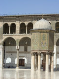 Umayyad Mosque  Unesco World Heritage Site  Damascus  Syria  Middle East
