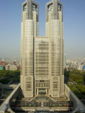 Metropolitan Government Building  Tocho  Shinjuku  Tokyo City  Honshu Island  Japan