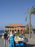Corn Seller on the Corniche  Beirut  Lebanon  Middle East