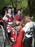 Geisha Maiko (Trainee Geisha) in Costume  Kyoto City  Honshu Island  Japan
