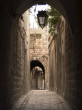 Arched Streets of Old Town Al-Jdeida  Aleppo (Haleb)  Syria  Middle East