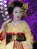 Geisha  Maiko in Gion  Kyoto City  Honshu  Japan