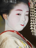Maiko  Trainee Geisha  Entertaining at Dinner  Kyoto  Japan