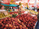 Fruit and Vegetable Market  Pula  Istria Coast  Croatia