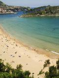 Lekeitio Beach  Basque Country  Euskadi  Spain
