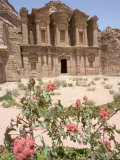 The Monastery  Petra  Unesco World Heritage Site  Wadi Musa (Mousa)  Jordan  Middle East