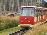 Funicular Railway  High Tatras Mountains (Vyoske Tatry)  Tatra National Park  Slovakia