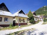 Unique Village Architecture of Vlkolinec Village  Velka Fatra Mountains  Slovakia