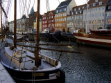 Nyhavn in Winter  Copenhagen  Denmark  Scandinavia
