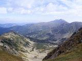 Siroka Valley Dominated by Dumbier Peak  2043M  in Low Tatry  Nizke Tatry  Zilina Region  Slovakia
