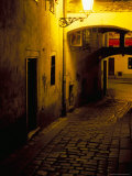 Bastova Street is a Fine Example of Historical Street in City's Old District  Bratislava  Slovakia