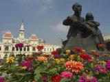 City Hall  Old Hotel De Ville  Ho Chi Minh City (Saigon)  Vietnam  Southeast Asia