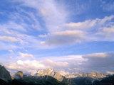 Clouds Above Marmolada Range  3342M  Dolomites  Alto Adige  Italy