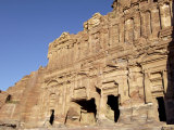 Palace Tomb  Petra  Unesco World Heritage Site  Jordan  Middle East
