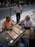 Backgammon  Kalamitsi  Peloponnese  Greece