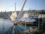 Bigo (Crane) by Renzo Piano  Old Port (Porto Antico)  Genoa (Genova)  Liguria  Italy