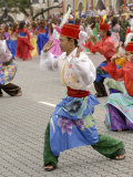 Malay Dancers Wearing Traditional Dress at Celebrations of Kuala Lumpur City Day Commemoration