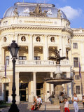 Neo-Baroque Slovak National Theatre  Now Major Opera and Ballet Venue  Bratislava  Slovakia