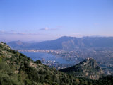View Over Palermo  Island of Sicily  Italy  Mediterranean