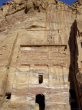 Silk Tomb  Petra  Unesco World Heritage Site  Jordan  Middle East