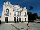 Alberto Maranhao Theatre  Old City  Natal  Rio Grande Do Norte State  Brazil  South America