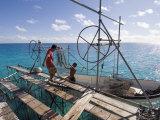 Hinano Black Pearl Farm  Fakarawa  Tuamotu Archipelago  French Polynesia Islands