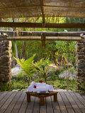 Spa  Pearl Beach Resort  Bora-Bora  Leeward Group  Society Islands  French Polynesia