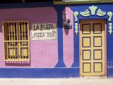 La Plaza Pizza Pub  El Gran Roque  Los Roques  Venezuela  South America