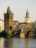 Charles Bridge  Old Town Bridge and the Water Tower  Prague  Czech Republic