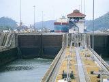 Miraflores Locks  Panama Canal  Panama  Central America