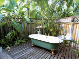 Open Air Bath at Luxury Hotel  Formerly Ian Fleming's House  Goldeneye  St Mary
