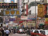 Fa Yuen Street  Mong Kok District  Kowloon  Hong Kong  China