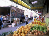Fruit and Vegetable Stall  China Town  Manhattan  New York  New York State  USA