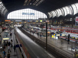 Hamburg Central Train Station  Hamburg  Germany