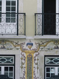 Typical Azulejos (Painted Tiles)  Lisbon  Portugal