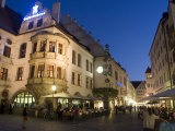Hofbrauhaus Restaurant at Platzl Square  Munich's Most Famous Beer Hall  Munich  Bavaria  Germany
